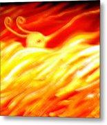 Phoenix Metal Print by Barbara Stirrup