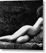 Photo Erotique D'une Femme Nue Metal Print