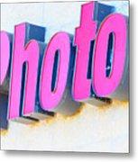 Photo Metal Print