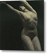 Photo Of Female Sculpture By The Artist Metal Print