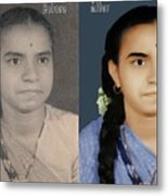 Photo Restoration Services Image Outsource India Metal Print