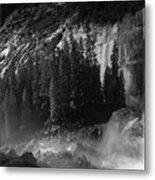 Photographer At Vernal Falls Metal Print