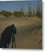 Photographer Metal Print