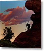 Photographing The Landscape Metal Print