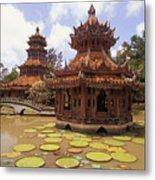 Phra Kaew Pavillion Metal Print