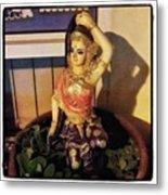 Phra Mae Thorani. Holy Mother Of Earth Metal Print