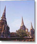 Phra Si Sanphet Metal Print