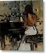 Pianist #0077 Metal Print