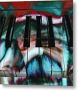 Piano Colors Metal Print