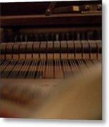 Piano Guts Metal Print