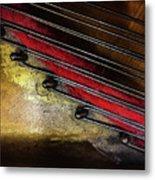 Piano Wire II Metal Print
