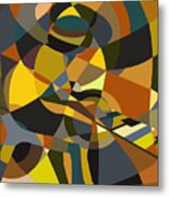 Pianoman Revisited Metal Print