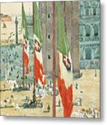 Piazza Di San Marco Metal Print