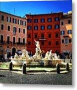 Piazza Navona 4 Metal Print
