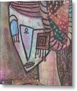 Picasso Inspired Metal Print