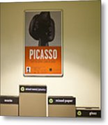 Picasso Poster Metal Print