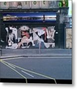 Picasso's Guernica In Glasgow, Scotland Metal Print