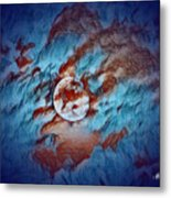 Picasso's Moon Metal Print