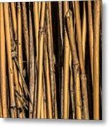 Pick-up Sticks Metal Print