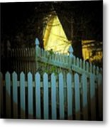 Picket Fence Metal Print