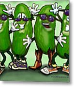 Pickle Party Metal Print