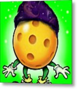Pickleball Wizard Metal Print