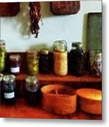 Pickles Beans And Jellies Metal Print