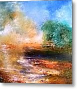 Picnic Dream Metal Print