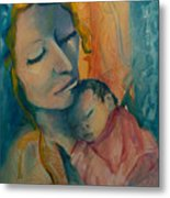 Picture Of Love Metal Print by Mary DuCharme