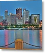 Picture Perfect Pittsburgh Metal Print