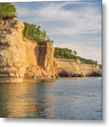 Pictured Rock Metal Print
