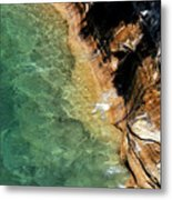 Pictured Rocks Metal Print