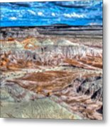 Picturesque Blue Mesa Metal Print
