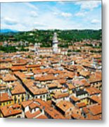 Picturesque Cityscape Of Verona Italy Metal Print