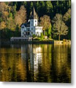 Picturesque Grundlsee Metal Print
