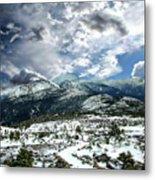 Picturesque Mountain Landscape Metal Print