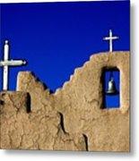 Picuras Pueblo Mission Belltower. Metal Print