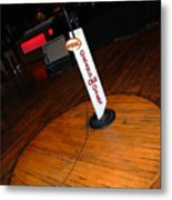Piece Of The Original Old Stage At The Grand Ole Opry In Nashville Metal Print by Susanne Van Hulst
