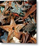 Pieces Of Iron Metal Print