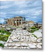 Acropolis - Pieces Of The Puzzle Metal Print