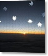 Piecing  Together A New Day Metal Print