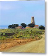 Piedras Blancas Historic Light Station - Outstanding Natural Area Central California Metal Print
