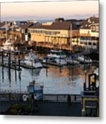 Pier 39 In The Sunshine Metal Print