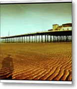 Pier Open Every Day Metal Print
