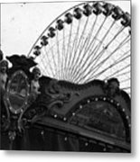 Pier Park Navy Pier Chicago Metal Print