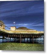 Pier Structure Metal Print