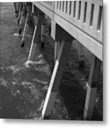 Pier Willmington Nc Metal Print