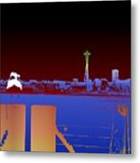 Pier With A View Metal Print