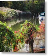Piermont Fall Color Metal Print