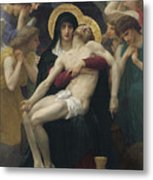 Pieta Metal Print by William Adolphe Bouguereau